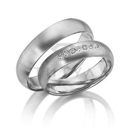 Золотые парные обручальные кольца (цена за пару)