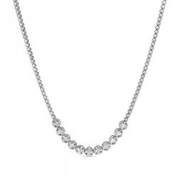 Колье из белого золота c бриллиантами