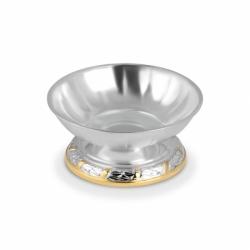 Серебряная креманка из набора «Государственный» с золочением