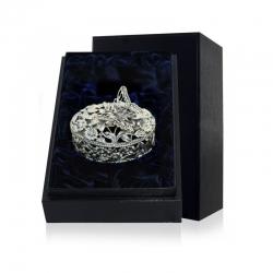 Серебряная шкатулка «Бабочка» с чернением