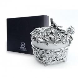 Серебряная солонка «Зачарованный лес»
